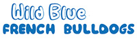 Wild Blue French Bulldogs Logo