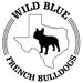 Wild Blue French Bulldogs Logo